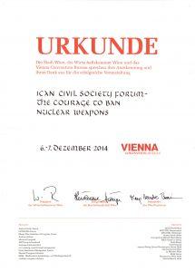 Urkunde Stadt Wien
