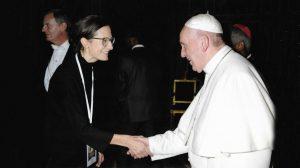 Papst Audienz von Nadja Schmidt